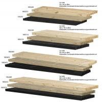 PLUS - løse traller - flere varianter - 48,5 x 140 cm