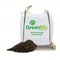 GreenBio Allétræsmuld og 5 liter Naturgødning - bigbag á 1000 liter