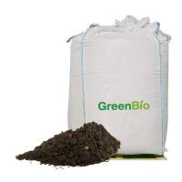 Allétræsmuld + GreenBio Naturgødning - bigbag á 1000 liter