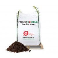 Økologisk Køkkenhave og drivhusmuld i bigbag