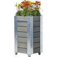 PLUS Cubic blomsterkasse - 46x50x95cm
