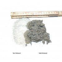 Grå granit stenmel i bigbag, 0-2 mm