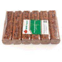 Prøvepakke - Hårdttræsbriketter - 10 kg.
