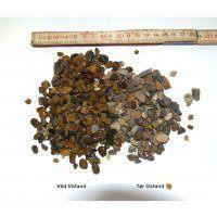 Brune perlesten, 4-8 mm i bigbag