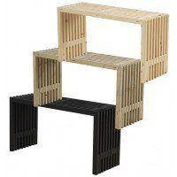 PLUS - Rustik Trallebord Design - 3 varianter - 138x49x72 cm