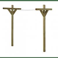 Tørrestativ - trygimprægneret nåletræ