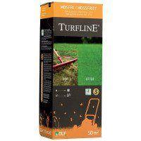 Græsfrø - Turfline Mosfri, kalk + græsfrø til eftersåning - 2i1 1 kg.