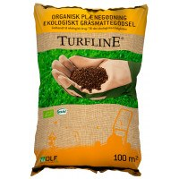 Turfline organisk gødning - 100 m2 - Godkendt til økologisk brug