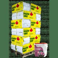grov spagnum og osmo surbundsgødning