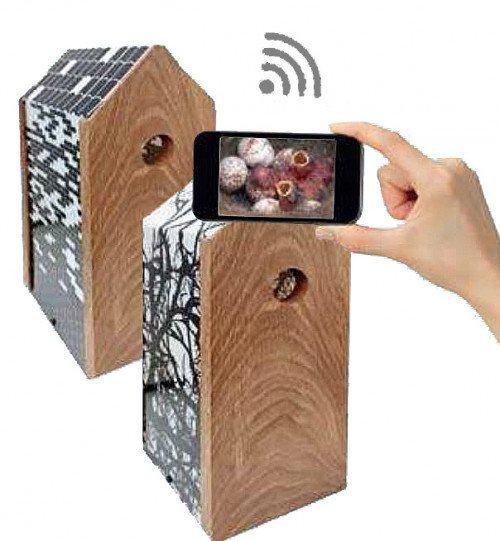 Redekasse Twigs med WIFI kamera