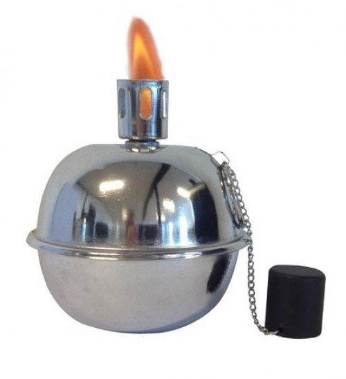 Tumble Torch sølvlook ø19.5