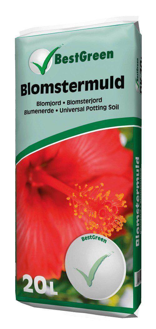 Blomstermuld BestGreen 20 el. 50 liters pose