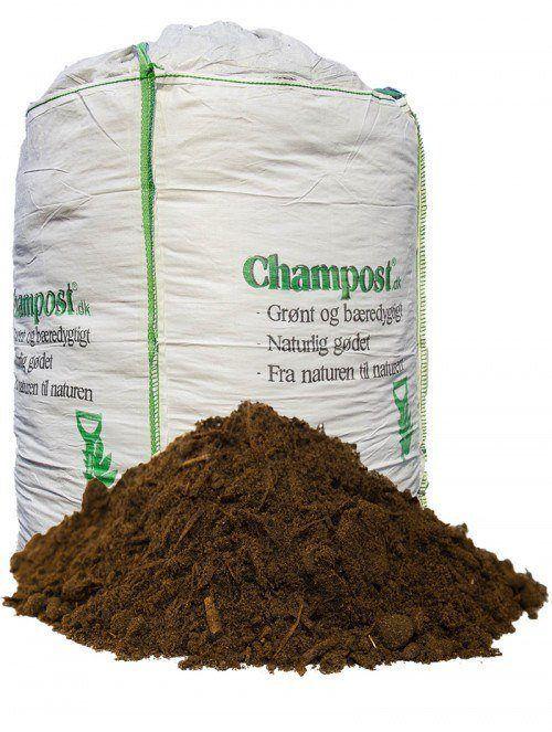 Champost Hækmuld - 1 t