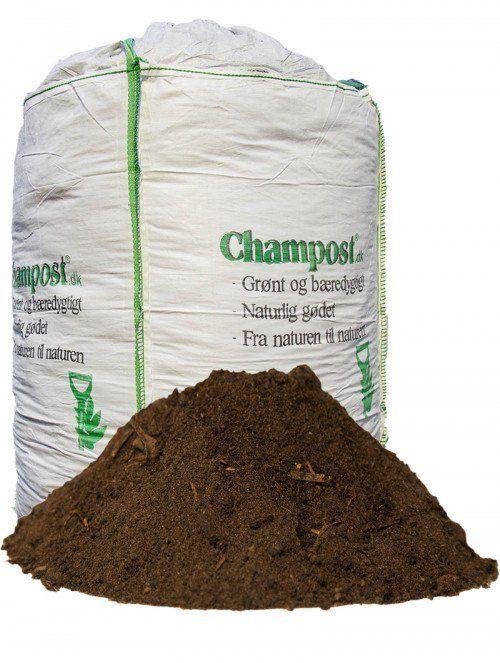 Champost Harpet muld - havejord - 900 l