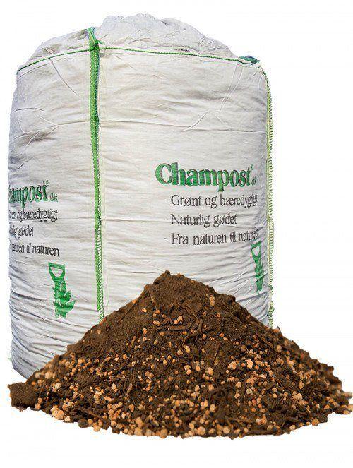 Champost Sphagnumfri jord - 1 ton