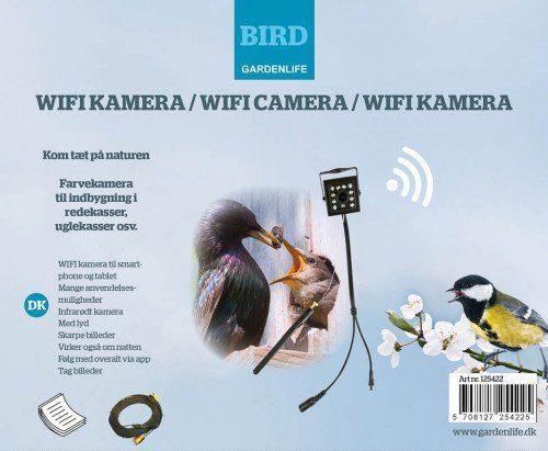 Kamera sæt, WIFI til smartphone/tablet via app