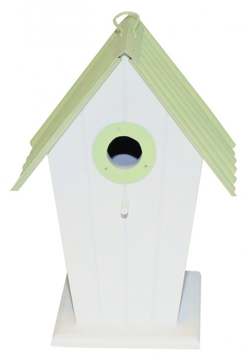 Redekasse - model Henne - grønt metaltag