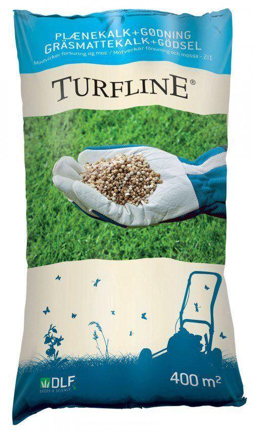Turfline Plænekalk + Gødning 2-i-én - 15 kg. - NPK 11-2-4 granuleret